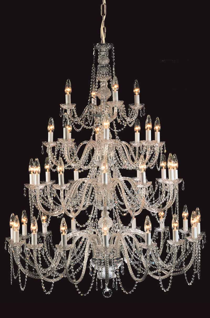 Prociosa georgian lead crystal chandelier czech republic impg21 prociosa georgian lead crystal chandelier czech republic impg21 124cm dia x 154cm heigh chain 40 lights 40w aloadofball Image collections