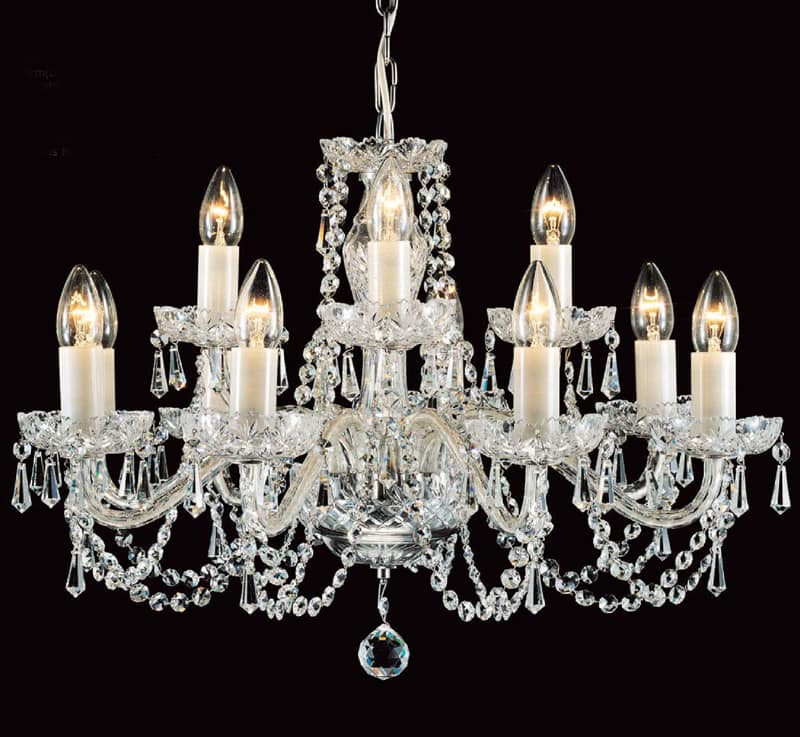 Prociosa georgian lead crystal chandelier czech republic impg7 prociosa georgian lead crystal chandelier czech republic impg6 115cm dia x 76cm high vhain 16 lights 40w aloadofball Image collections